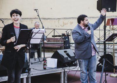 Performance de Vagabundas Teatro Social. SANDRA BLANCO