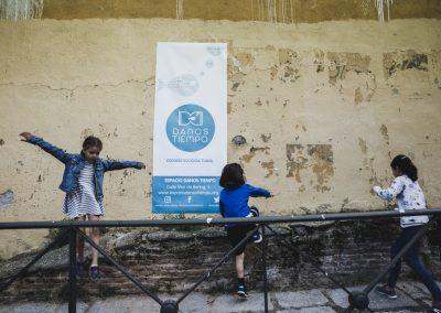 El miércoles las fiestas se trasladaron a la placita de Mar del Japón (Plaza de Josefa Arquero) celebrando el Día Mundial del Medio Ambiente organizado por laasociación cultural Danos Tiempo.SANDRA BLANCO