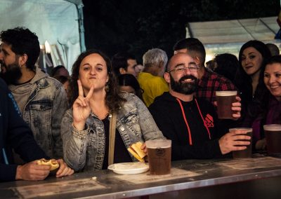 """Spotted"" en las fiestas. SANDRA BLANCO"