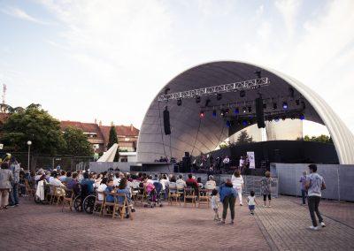 Los Encuentros Culturales de Portugalete nos deleitaron este año con el concierto de Barba Dixie Band. SANDRA BLANCO
