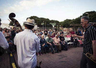 Barba Dixie Band en Hortaleza. SANDRA BLANCO