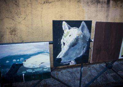 Exposión de los alumnos de pintura. SANDRA BLANCO