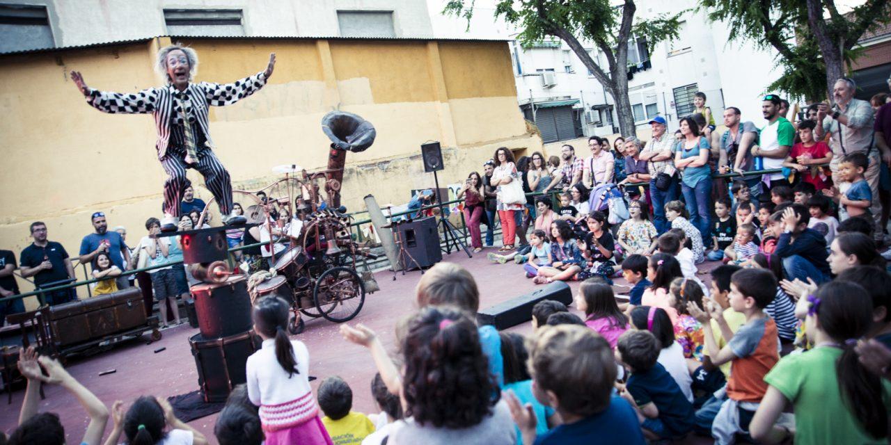La Fiesta de Arte de Calle de Hortaleza, en imágenes