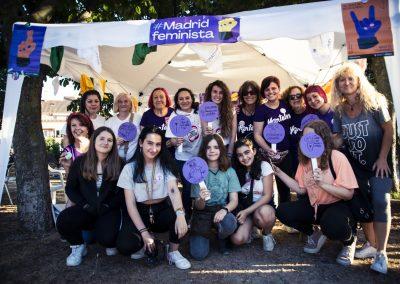 Voluntarias del Punto Violeta.  SANDRA BLANCO