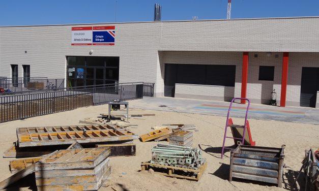 La ampliación del colegio de Valdebebas sigue pendiente
