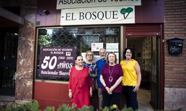 La asociación de vecinos El Bosque, 50 años muy bien llevados