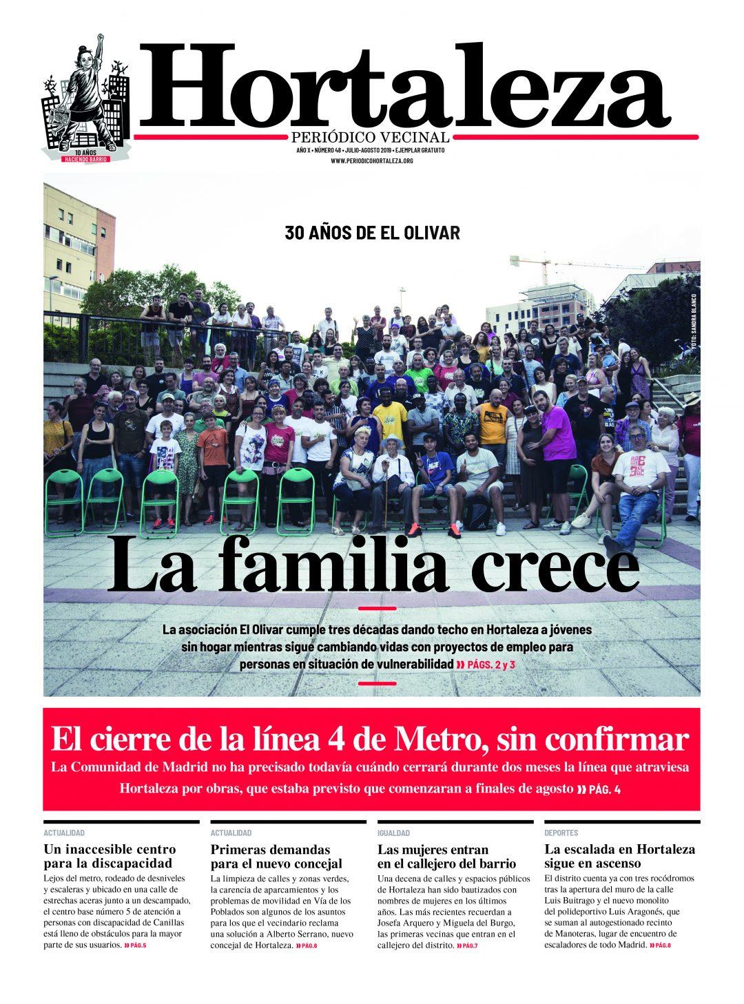 Número de verano de Hortaleza Periódico Vecinal