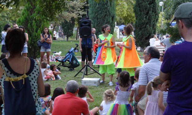 Espectáculos en los parques de Hortaleza para los peques