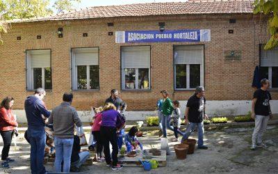 Talleres de compostaje y barbacoa en la asociación Pueblo de Hortaleza