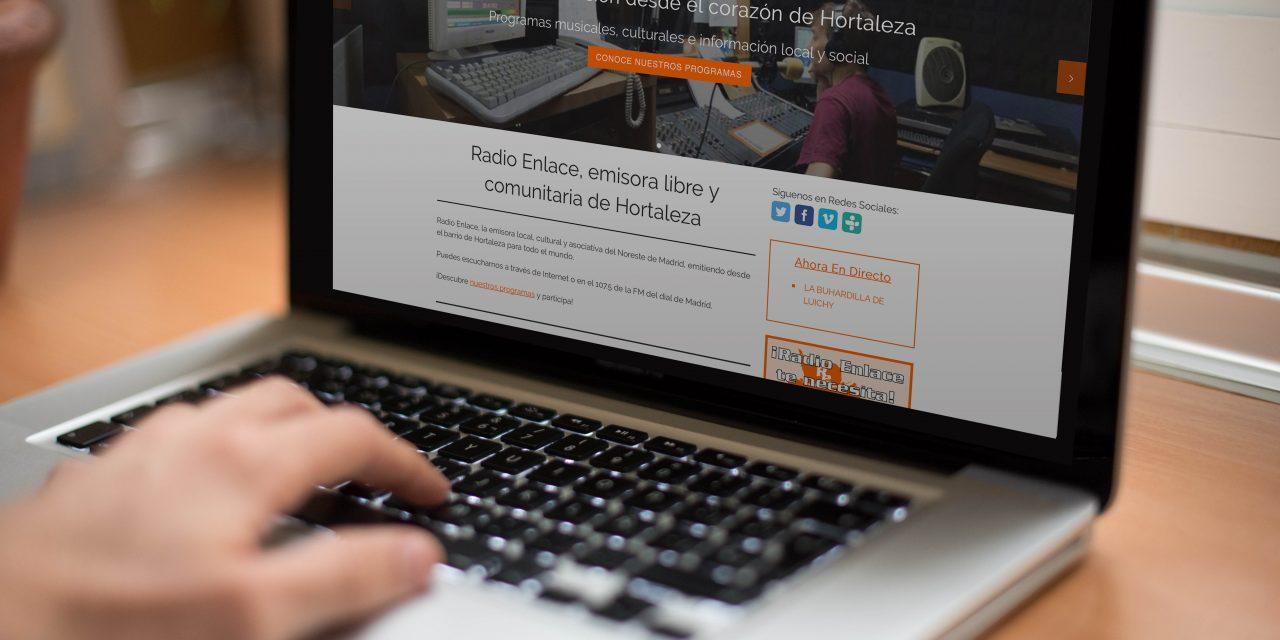 Radio Enlace se regala una nueva web por su 30 aniversario