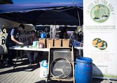 Asociación de compostaje comunitario de Hortaleza (www.compostajecomunitariohtz.wordpress.com). SANDRA BLANCO