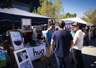 The Hug (www.hugculture.org). SANDRA BLANCO