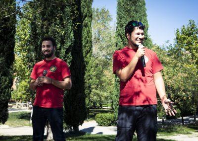 Teatro de improvisación. Asociación Cultural Las Cosas que Hacemos (www.improimpar.com). SANDRA BLANCO