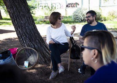 Taller de compostaje. Asociación Compostaje Comunitario de Hortaleza. SANDRA BLANCO