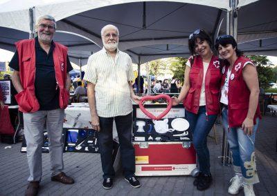 Cruz Roja. SANDRA BLANCO