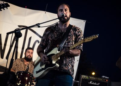 Actuación musical del grupo de indie-rock Lunáticos. SANDRA BLANCO