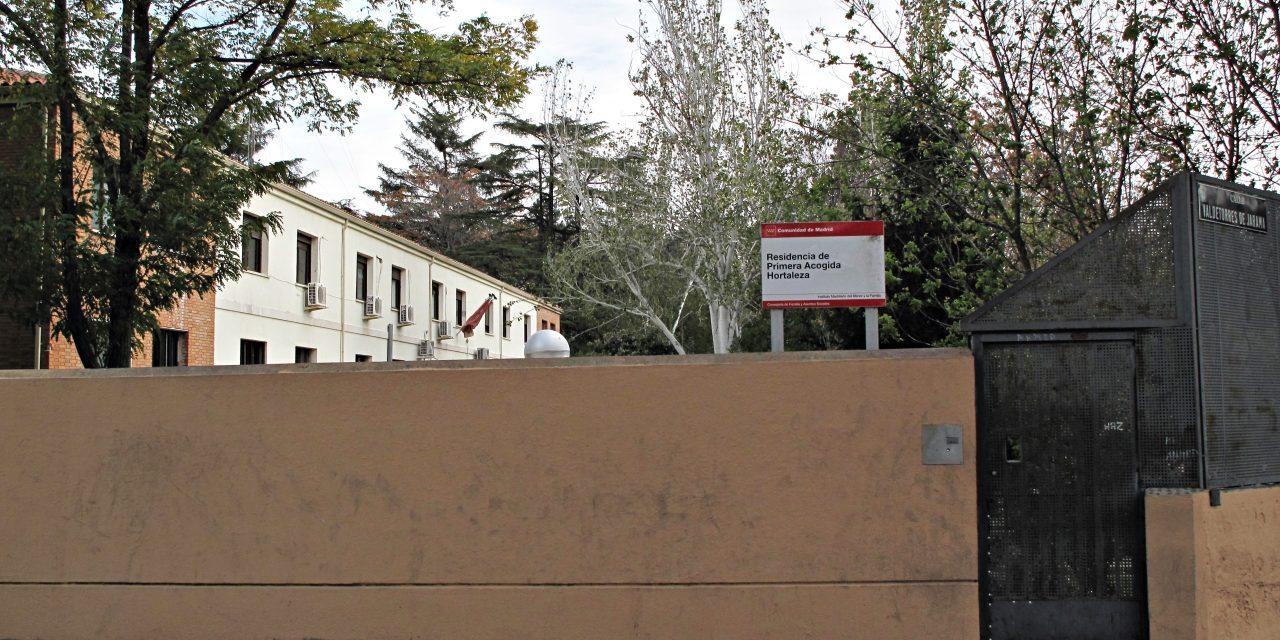 Arrojan un artefacto explosivo al recinto del Centro de Primera Acogida de Hortaleza