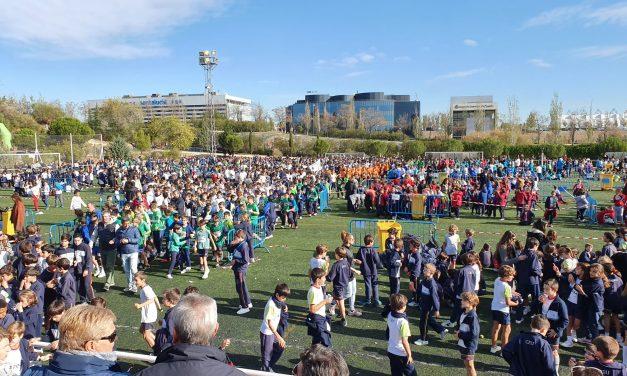 La gran fiesta deportiva y escolar de Hortaleza