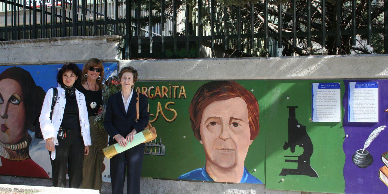 El recuerdo que Margarita Salas dejó en Manoteras