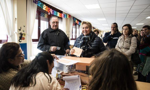El PP gana las elecciones generales en Hortaleza