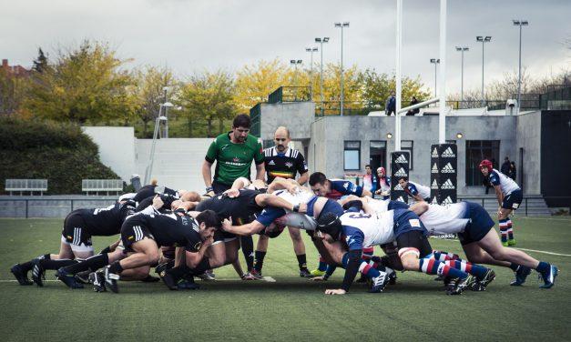 El primer derby de rugby de Hortaleza en imágenes