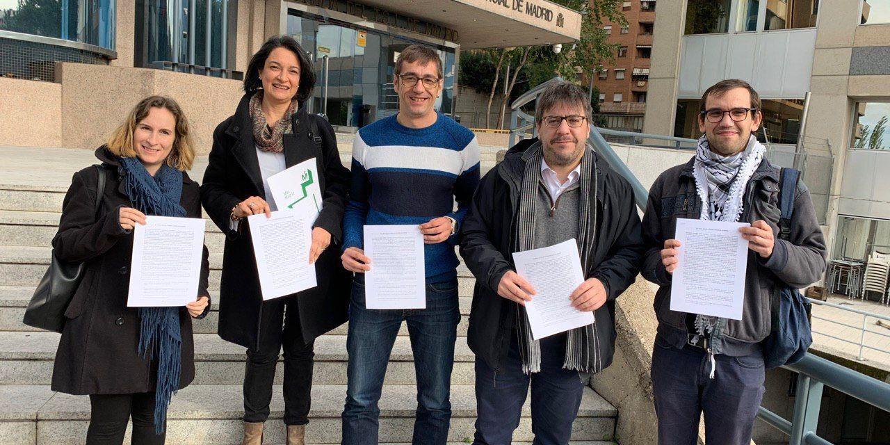 Más Madrid denuncia ante la Fiscalía una agresión racista a dos menores en Hortaleza