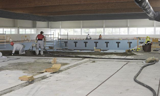 Próxima apertura de la piscina cubierta del polideportivo municipal Luis Aragonés