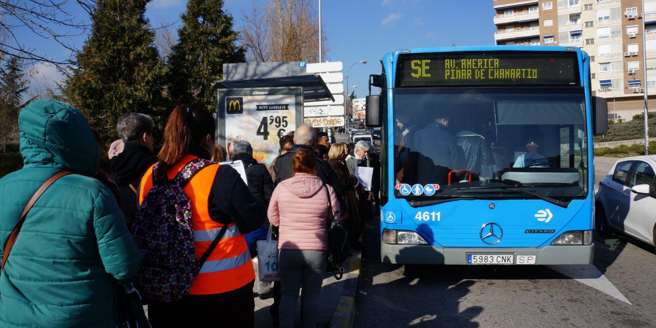 Más autobuses para aliviar el cierre de la línea 4 de Metro