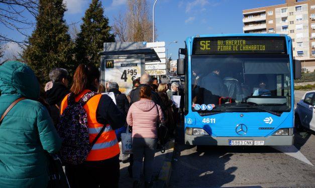 Más autobuses para aliviar el cierre de la línea 4
