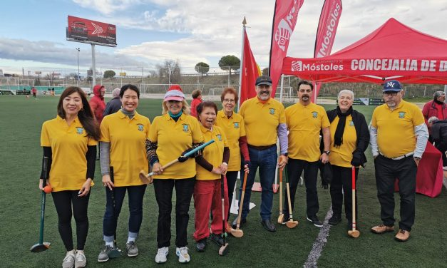 Ground golf, un deporte apto para personas mayores