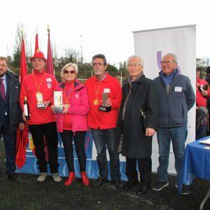 Victoria mostoleña en el primer torneo de ground golf de Hortaleza