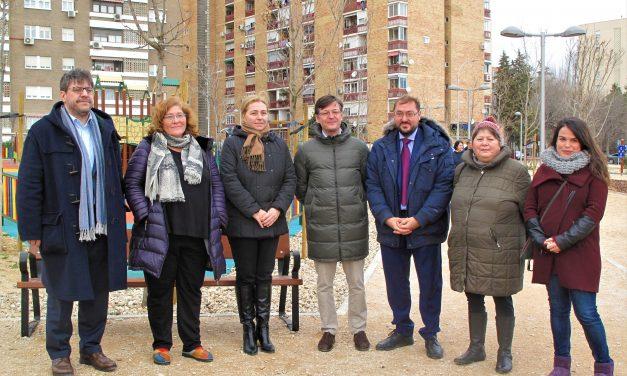 Villa Rosa cuenta con un nuevo parque multiusos