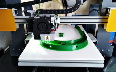 Hortaleza se suma a la creación de material sanitario con impresoras 3D