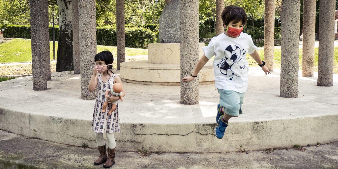 Los pequeños hortalinos vuelven a calles y parques