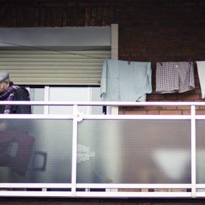 Los mayores en Hortaleza durante la cuarentena