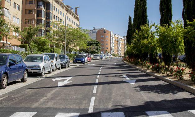 La operación asfalto ya está en marcha en Hortaleza