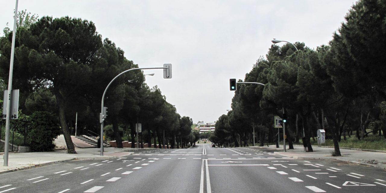 Solo un tramo de López de Hoyos será peatonal en Hortaleza los fines de semana