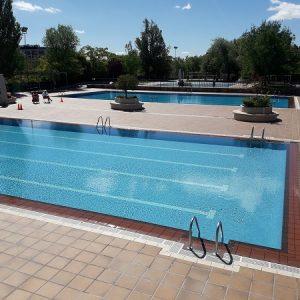 Las piscinas de verano del Luis Aragonés y la cubierta de Hortaleza abren en julio