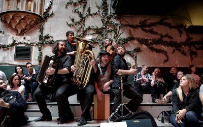 Los Veranos de la Plaza de Danos Tiempo: concierto de Jingle Django
