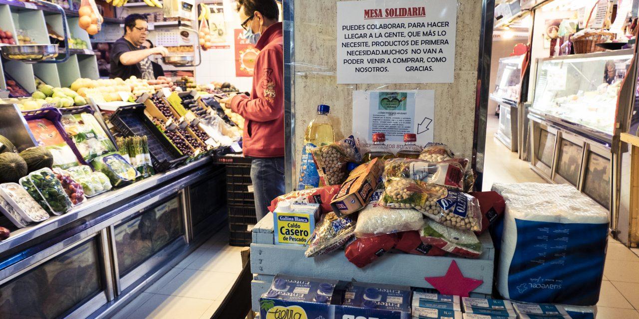 La Hortaleza solidaria alimenta al vecindario más necesitado