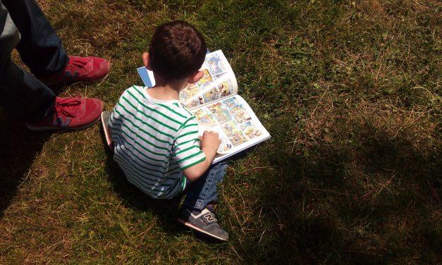 Los cuentos salen al parque Huerta de la Salud