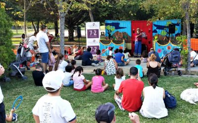 Actividades infantiles en los parques de Hortaleza