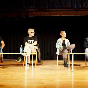 El director David Trueba presenta en Hortaleza su nueva película 'A este lado del mundo'