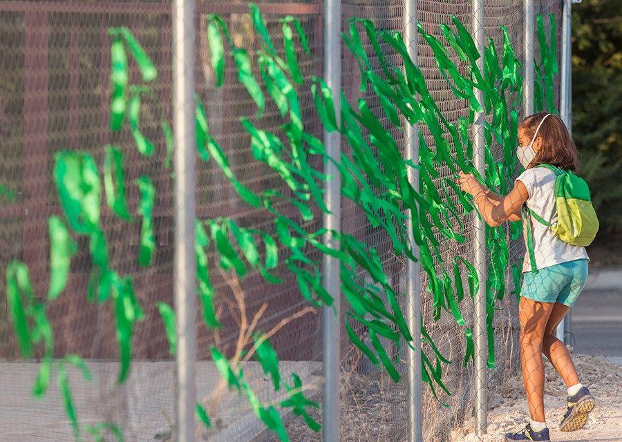 «Contamina en verde, Iberdrola»