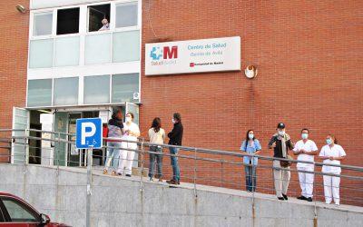 Vuelven las concentraciones en apoyo a la sanidad pública en Hortaleza