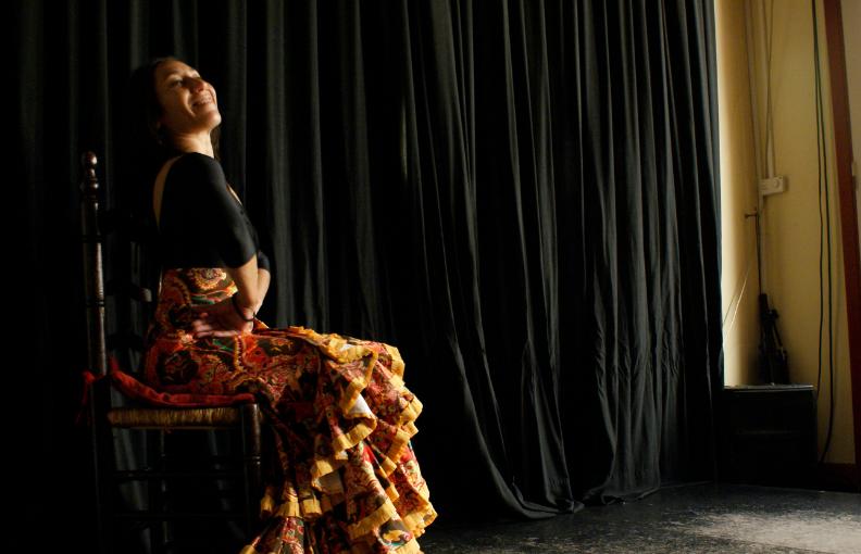 Con sabor a flamenco