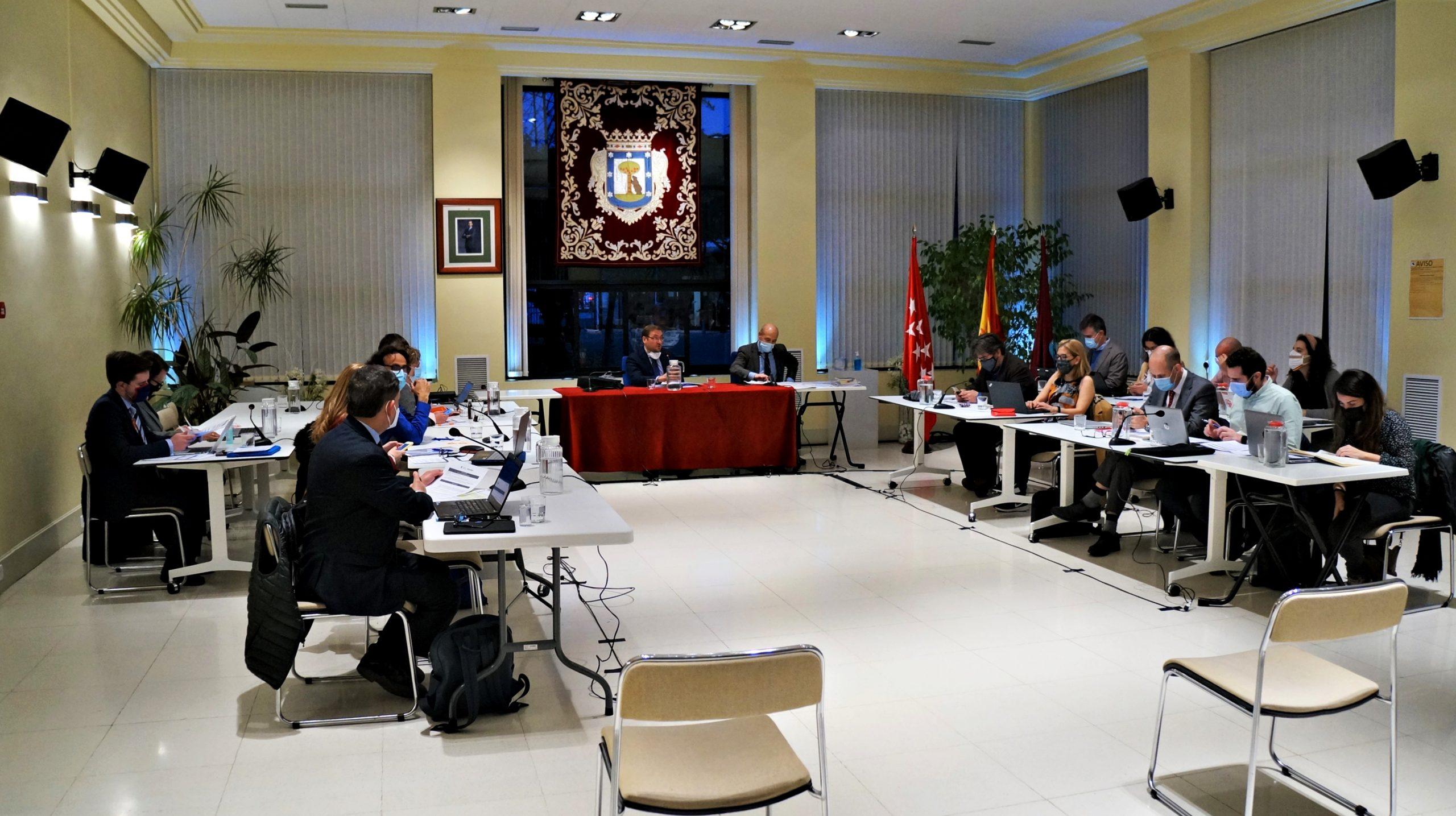 Pleno de septiembre de Hortaleza