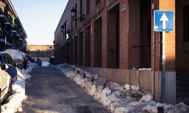 ¿Qué calles de Hortaleza están despejadas de nieve?