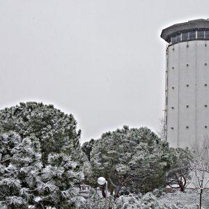 La nieve regresa a Hortaleza