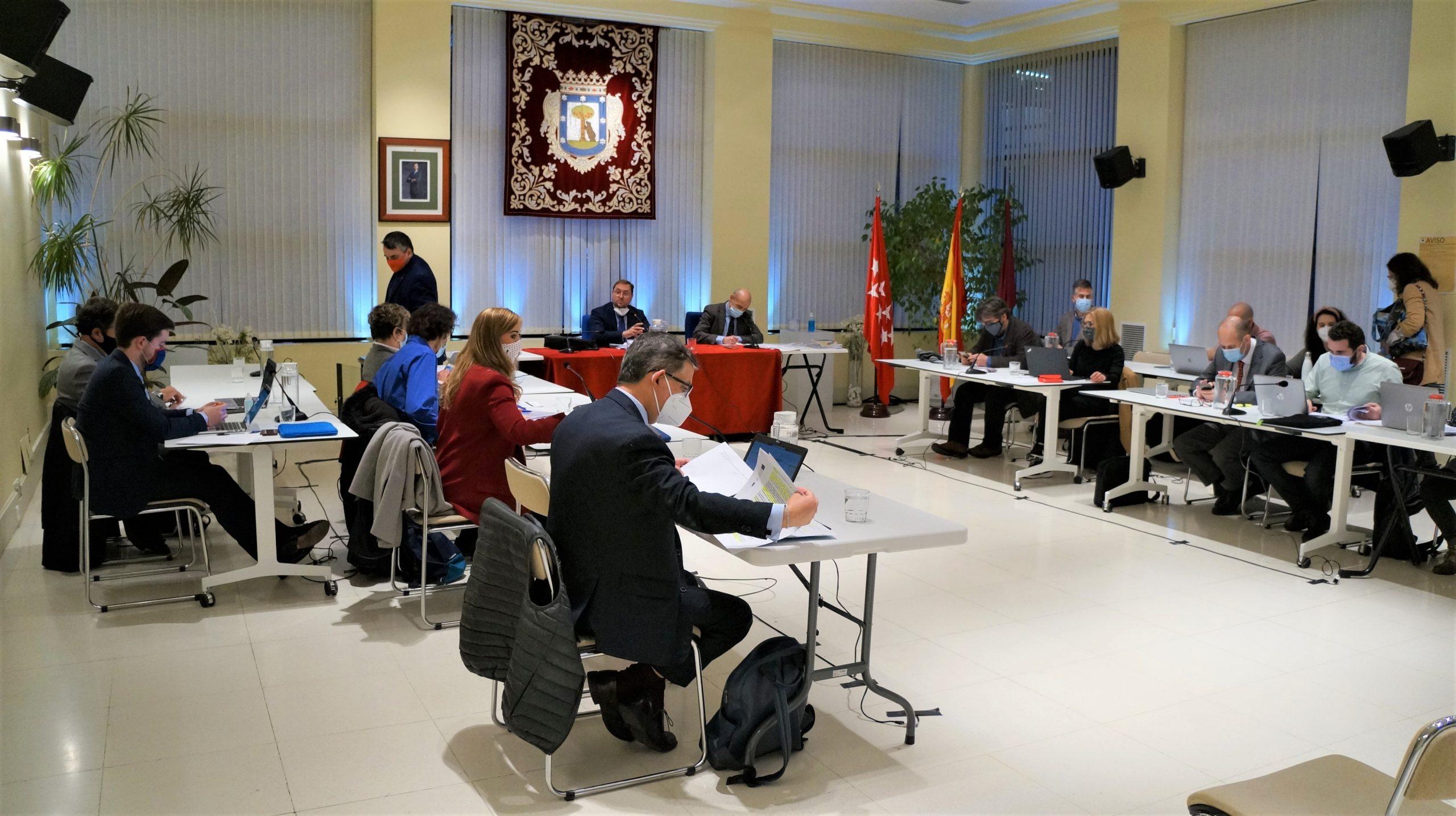 Pleno de junio de Hortaleza